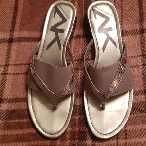 Anne Klein Sport Sandals size 10